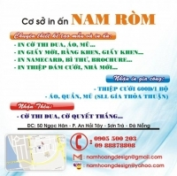 Cơ sở in ấn Nam Ròm