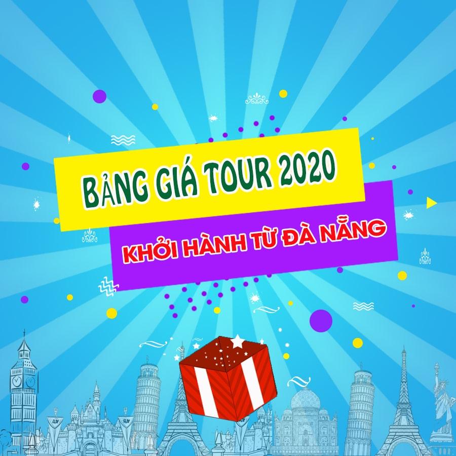 Bảng giá tour du lịch khởi hành từ Đà Nẵng 2020 | Khởi hành hằng ngày