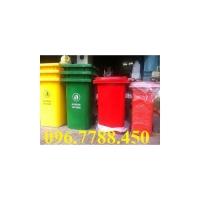 Bán thùng rác công cộng 120lit/240lit/660lit lhe 0967788450