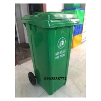 Bán thùng rác nhựa dùng ngoài trới 240 lit - 120 lít - 660 lít trên toàn quốc.