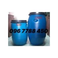 Bán thùng phuy nhựa 50lit/120lit/220lit Lhe 0967788450