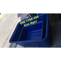 Bán thùng nhựa nuôi cá hình chữ nhật 1100lit/2000lit/300lit Lhe 0967788450