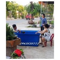 Bán thùng chữ nhật nuôi cá - thùng nhựa vuông đựng nước 1000 lít - 1100 lít