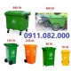 Cung cấp thùng rác 660 lít 4 bánh xe giá rẻ tại cần thơ