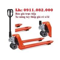 Phân phối xe nâng tay thấp 3 tấn giá rẻ tại sóc trăng- lh 0911082000