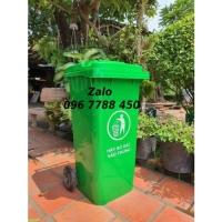 Giá thùng rác đô thị 240 lít, 120 lít Lhe 0967788450