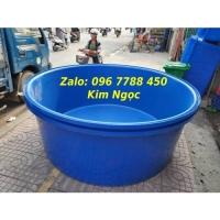Bồn tròn giá rẻ nuôi cá cảnh 2000 lít, 1000 lít, 500 lít Lhe 0967788450