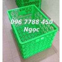 Rổ nhựa có bánh xe đựng hàng may mặc LHe 0967788450 Ngọc