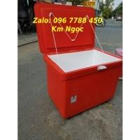 Thùng lạnh 450 lít ướp hải sản, thực phẩm Lhe 0967788450 Ngọc