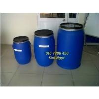 Phuy nhựa các loại đựng hóa chất Lhe 0967788450 Ngọc