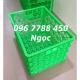 Sóng nhựa đan đựng trái cây hàng hóa Lhe 0967788450 Ngọc