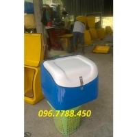 Thùng chở hàng, ship hàng hóa đồ ăn nhanh sau xe máy Lhe 0967788450