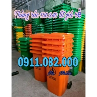 Thùng rác giá rẻ hàng nhập khẩu- thùng rác 120 lít 240 lít