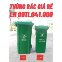 Bỏ sỉ và lẻ thùng rác công cộng 120lit 240lit màu xanh