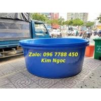 Bồn tròn lớn nuôi cá cảnh 3000 lít giá rẻ Lhe 0967788450 Ngọc