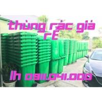 Thùng rác giá rẻ, thùng rác 40lit 60lit giá rẻ giá sỉ--0911041000