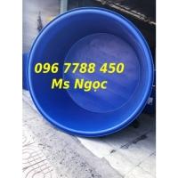 Bồn nhựa tròn lớn 1500 lít nuôi cá cảnh Lhe 0967788450 Ngọc