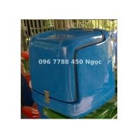 Thùng nhựa giao đồ ăn nhanh sau xe máy Lhe 0967788450 Ngọc