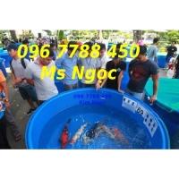 Bồn tròn lớn 2000 lít nuôi cá Lhe 0967788450 Ngọc