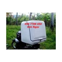 Bán thùng chở hàng sau xe máy Lhe 0967788450 Ngọc