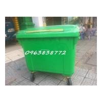 Thùng rác 660 lít - thùng đựng rác 660 lít