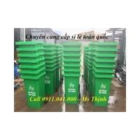 Thùng rác 120L 240L giao hàng toàn quốc giá rẻ lh 0911.041.000