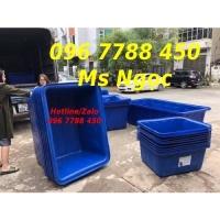 Thùng nhựa lớn 750 lít nuôi cá Lhe 0967788450 Ngọc