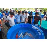 Bồn tròn lớn 3000 lít nuôi cá, làm hồ bơi Lhe 0967788450 Ngọc