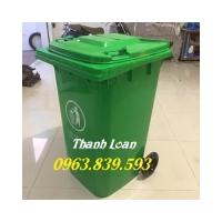 Thùng rác công cộng 240L thu gom rác sinh hoạt./ 0963.839.593 Ms.Loan