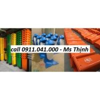 Thùng rác 240l giá rẻ  - thùng rác nhựa HDPE lh 0911.041.000