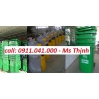 Thùng rác công cộng nhựa HDPE nhập khẩu 0911.041.000