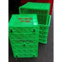 Bán sóng nhựa lớn có bánh xe đựng hàng hóa LHe 0967788450