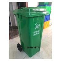 Thùng rác 120 lít - thùng đựng rác ngoài trời 120L | 0963 838 772