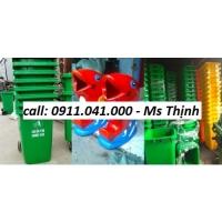 Thùng rác công nghiệp 240 lit - lh 0911.041.000