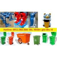 Bán thùng rác 120 lít, 240 lít, 660 lít giá rẻ quận 12- lh 0911082000