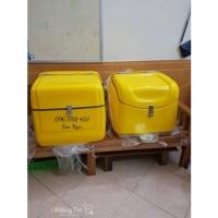 Thùng chở giao đồ ăn nhanh sau xe máy Lhe 0967788450 Ngọc
