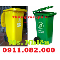 Đại hạ giá thùng rác 120 lít 240 lít giá rẻ tại vĩnh long