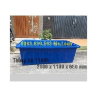 Thùng nhựa 1100lit nuôi cá cảnh./ 0963.839.593 Ms.Loan