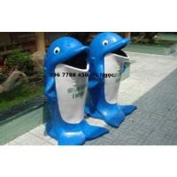 Thùng rác hình con thú cá heo/gấu trúc/chim cánh cụt...Lhe 0967788450