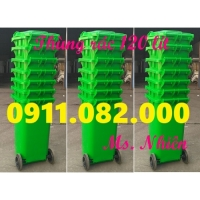 Thùng rác 120 lít 240 lít giá rẻ tại đồng nai- Thùng rác nhựa hdpe