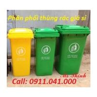 Đại lý sỉ thùng rác công nghiệp nhựa HDPE lh 0911.041.000 giá rẻ cạnh tranh