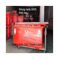 Thùng ướp hải sản công nghiệp 800L, thùng đá 800L giữ lạnh./ 0963.839.593 Ms.Loan