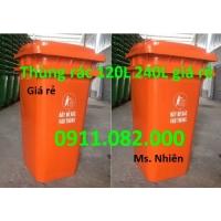 Chuyên bỏ sỉ thùng rác 120L 240L giá rẻ cho đại lý