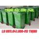 Thùng rác sỉ lẻ thùng rác 120lit 240lit tại long an 0911.041.000