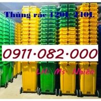 Chuyên bán sỉ thùng rác 120L 240L giá rẻ- thùng rác giá rẻ - lh 0911082000