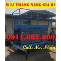 Chuyên phân phối thang nâng điện 10 mét giá rẻ tại khánh hoà-lh 0911082000